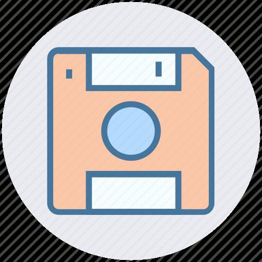 Disk, database, floppy, storage, drive, save, data icon