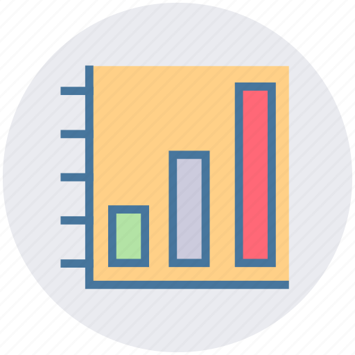 bar, chart, data science, graph, science icon