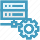 data science, database, gear, options, setting icon
