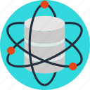 data, database, science, server, storage icon