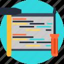 code, coding, engineering, hammer, programming, screwdriver