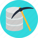compression, core, data, mining, pattern, processing, research icon