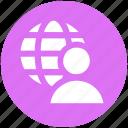 data science, globe, internet, man, user, world
