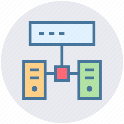 connection, data science, database, hosting, network, sharing icon