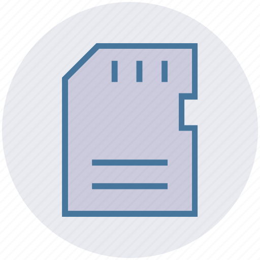 card, data, memory card, mobile card, storage icon