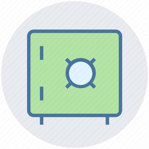 bank, data science, deposit, safe, secure, strong box icon