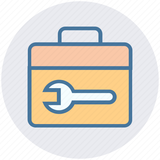 bag, box, container, material, toolkit, tools bag icon