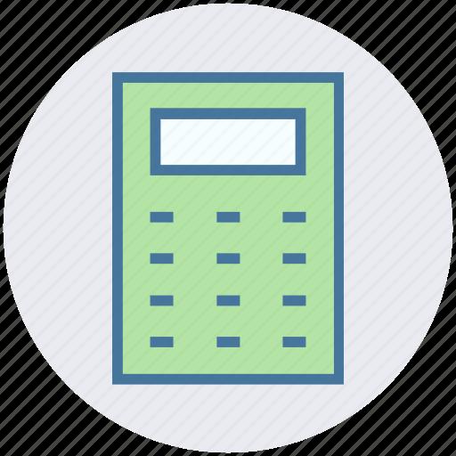 calculation, calculator, laboratory, math, science icon