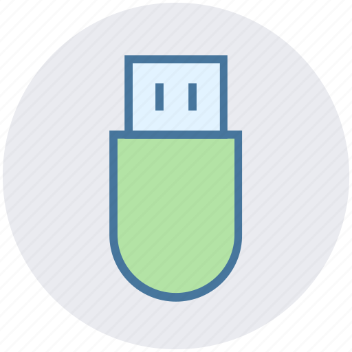 data saver, device, flash, storage, usb, usb device icon