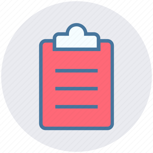 clipboard, document, list, paper, sheet icon