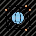 global, world, globe, earth, flag