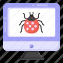 virus, computer bug, malware, system bug, malicious