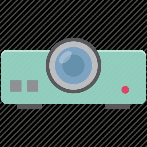 digital equipment, movie projector, multimedia, projector, projector device icon