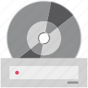 cd, cinema, dvd, dvd player, film, movie reel, tape icon
