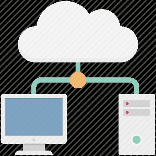 cloud, cloud computing, cloud network, hosting, network icon