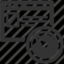 clock, speed test, web analyzer, website, website speed