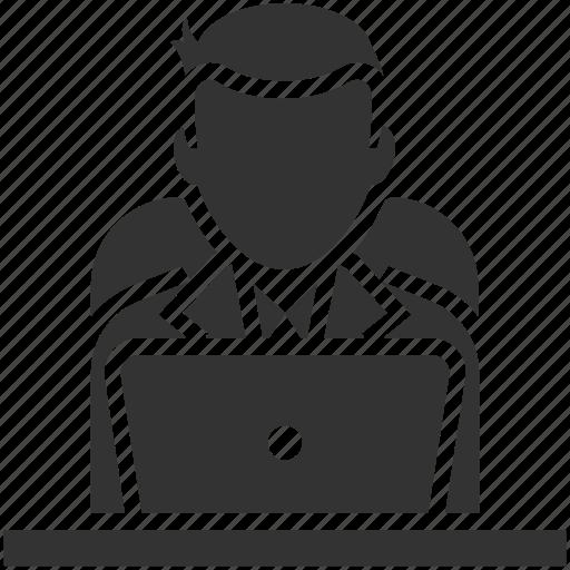 Developer, freelancer, programmer, user, web developer icon - Download on Iconfinder