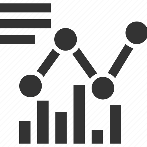 analytics, bar graph, graph, growth chart, line graph icon