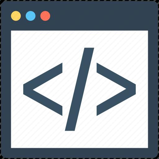 Div, div coding, html, html coding, source code icon - Download on Iconfinder