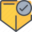 check, protection, secure, security icon