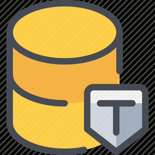 data, database, secure, security icon
