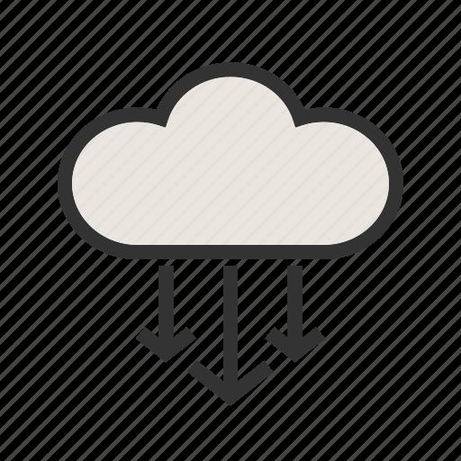 Backup, cloud, computing, network, storage, upload icon - Download on Iconfinder