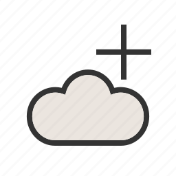 add, business, cloud, network, search, web, website icon