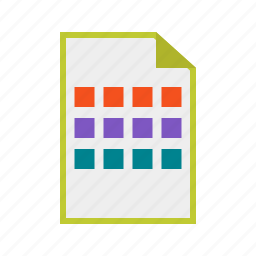 display, files, grid, layout, setting, touch, view icon