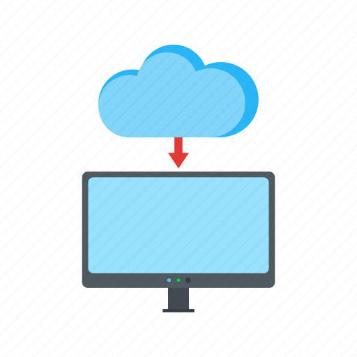 cloud, device, media, network, technology, web icon