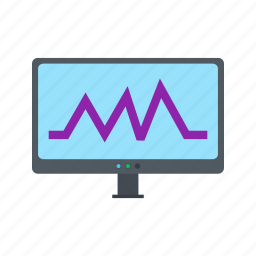 analytics, business, chart, data, graph, growth, results icon