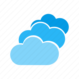 cloud, computer, connection, devices, internet, multiple, network icon
