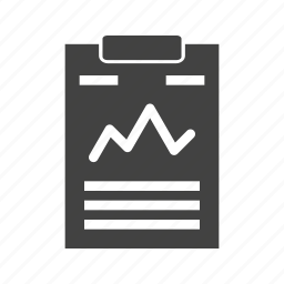 analysis, business, data, document, percentage, statistics icon