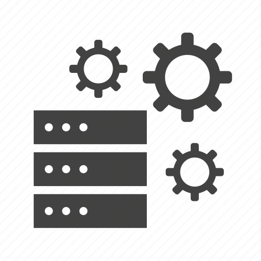 computer, connection, database, network, server, technology, web icon