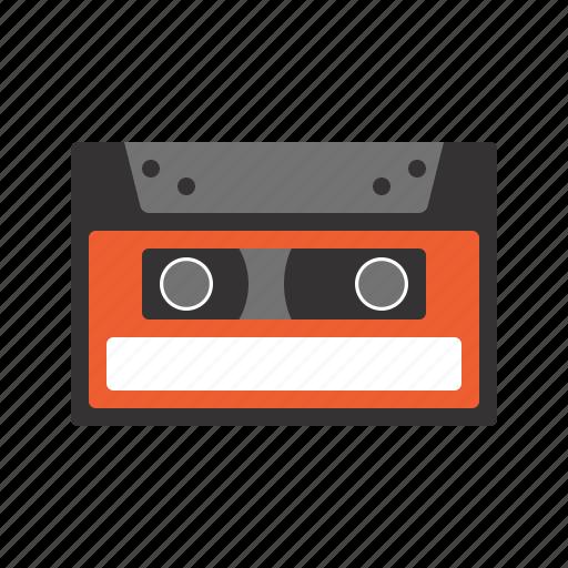 cassette, data, data storage, music, old school, tape icon