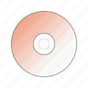 cd, computer, data, data storage, dvd, pc icon