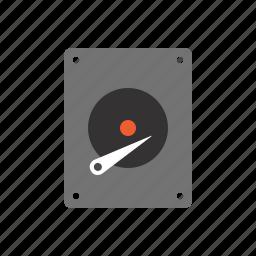 computer, data, data storage, drive, hard, hard drive, pc icon