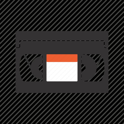 cassette, data, movie, storage, vhs icon