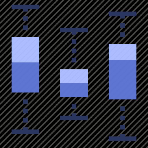 box, data, plot, visualisation icon