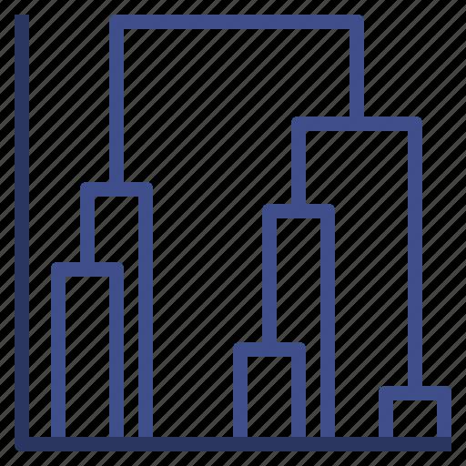 correlation, data, dendrogram, visualisation icon