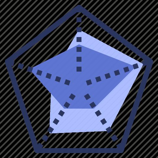 chart, data, location, redar, visualisation icon