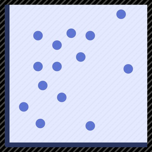 data, dot, plot, scatter, visualisation icon