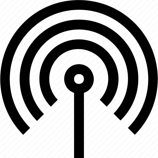 cellular, network, satellite, signal, tower, wifi, wireless icon