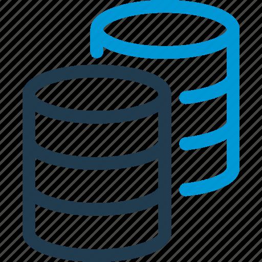 copy, data, database, db, file, storage icon