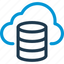 cloud, data, database, db, file, storage icon