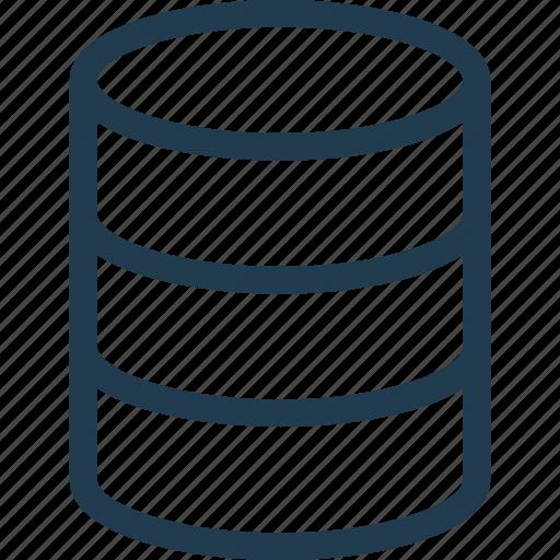 data, database, db, file, storage icon