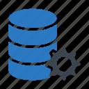 configure, database, preference, server, setting icon