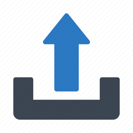 arrow, direction, sign, up, upload icon