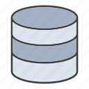 data center, database, hosting, network, server, storage icon