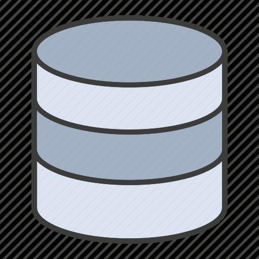 data center, database, hosting, network, server, storage icon
