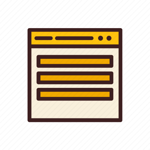 data, database, network, storage, website icon